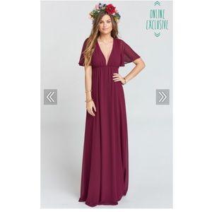 Show Me Your MuMu Faye Maxi Dress